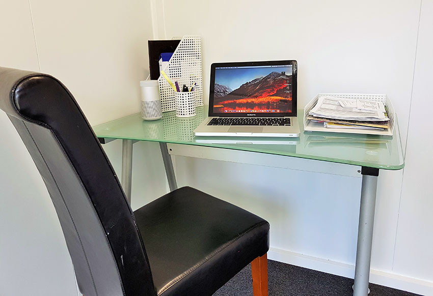 With a room from Portable Room Solutions, you can have space for your own home office, in an instant.